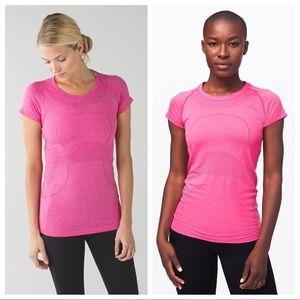 Lululemon Run Swiftly Pink Top